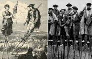 Пастухи на ходулях: как французы освоили непростое ремесло