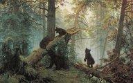 «Утро в сосновом лесу»: Как картина русского пейзажиста превратилась в конфетную обертку