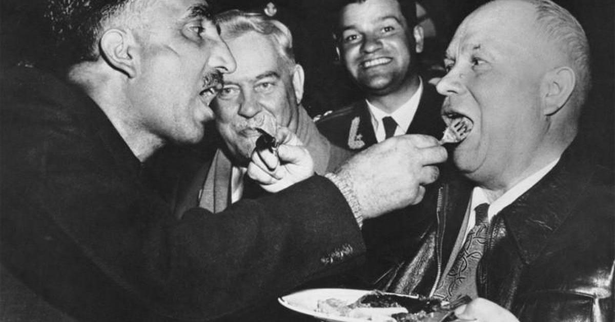 Любимые кушания советских правителей.