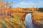 «Золотая осень» Левитана: Мажорная картина художника-меланхолика