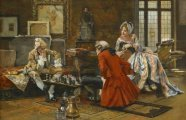 Картины о жизни высшего света XIX – XX веков художника, который украшал Сорбонну