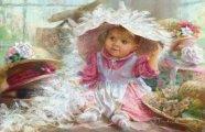«Мамино счастье»: Очаровательные детишки в работах американского художника-самоучки