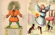 Ужасы и страшные картинки: как в XIX веке детей приучали к хорошему поведению