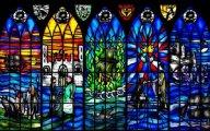 Витражная роспись: От церковного убранства до светского декора
