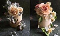 Как настоящие: «Сладкая» художница создает роскошные цветы, которые можно съесть