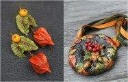 Стильные штучки: 20 ярких осенних украшений из полимерной глины для самых изысканных модниц