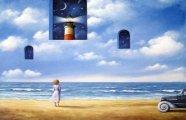 Абсурдный мир символиста Албински: Сюрреалистические картины с нотками раннего творчества Сальвадора Дали