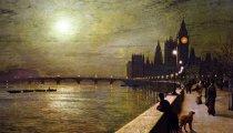 Реалистичные картины «сумеречного» художника-викторианца Гримшоу, который рисовал лунный свет