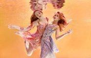 В объятиях воды: Иллюзорные Fashion-фотографии с лёгким налётом ню