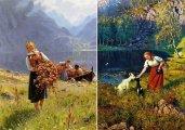 Почти пасторальные пейзажи: Картины норвежского живописца, над которым насмехались художники-авангардисты