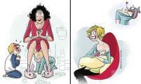 20 честных иллюстраций, в которых себя узнает каждая мама