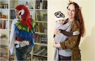 Страшно веселый праздник: 20 по-настоящему креативных идей костюмов для Хэллоуина, созданных изобретательными родителями для младенцев