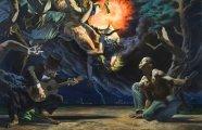 25 жутковатых и неоднозначных картин в стиле неореализм, повествующих о людских пороках