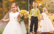 Перед самым важным днем в своей жизни 5-летняя малышка попросила маму о «свадебной» фотосессии с лучшим другом