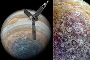 Фотографии Юпитера: Аппарат НАСА завершил восьмой облет планеты