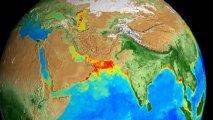 NASA сняло видео о том, как дышит Земля