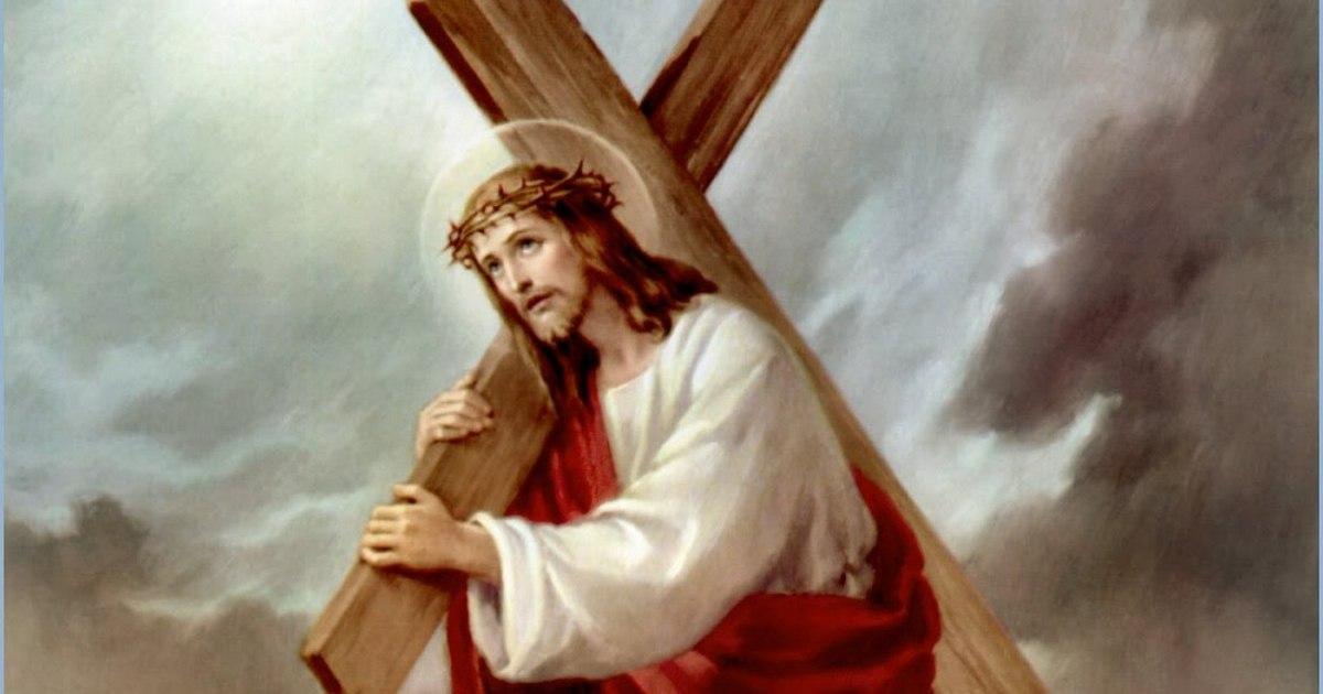Изображение христа на кресте православном