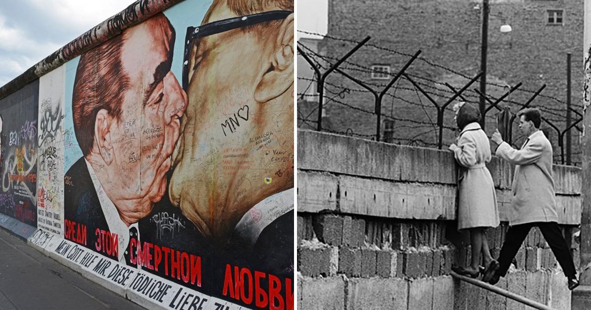 Берлинская стена была возведена в каком году