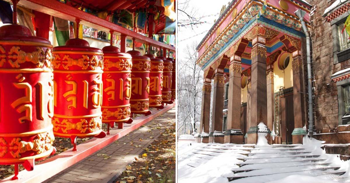 Главный храм буддийской традиционной сангхи России