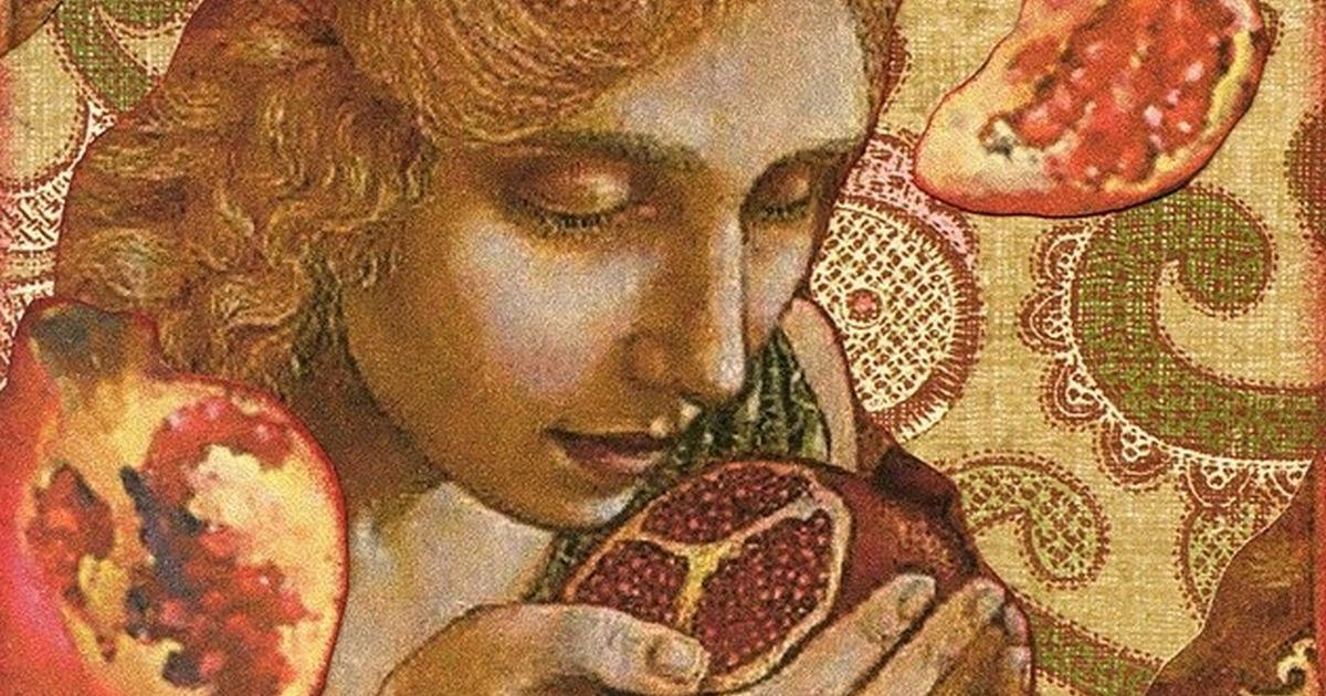 Символика граната в живописи: Как связан этот плод со Страстями Христовыми?    Плоды граната картинки